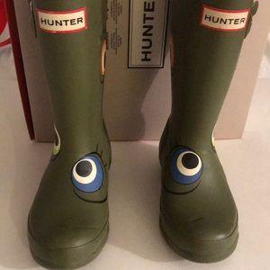 Little girls Hunter Boot